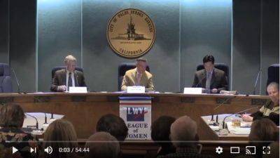 Videos from PVE 2017 City Elections Candidate Forum February 2