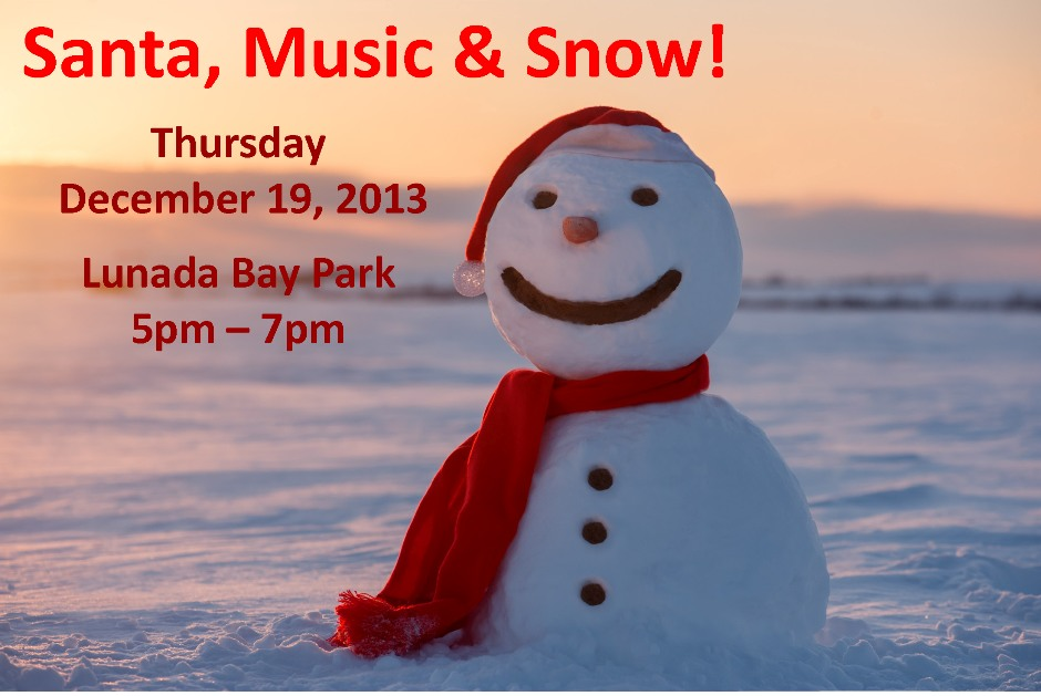 Santa, Music & Snow!